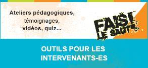 OUTILS POUR LES INTERVENANTS-ES