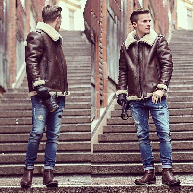 17  best images about B3 sheepskin jackets on Pinterest | Jackets ...