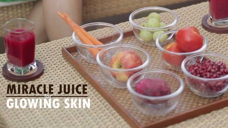 Glowing Skin Juice Recipe With Suman Agarwal - Healthy Juice Recipe - Gl...