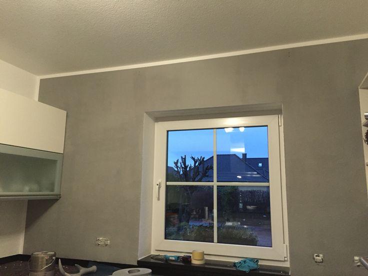 alpina feine farben no 02 nebel im november farbe w hrend des trocknens alpina feine farben. Black Bedroom Furniture Sets. Home Design Ideas