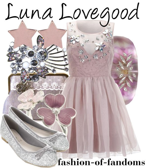 I normally wouldn't wear this much pink, but I would wear this outfit because it's adorable and because, well, LUNA.