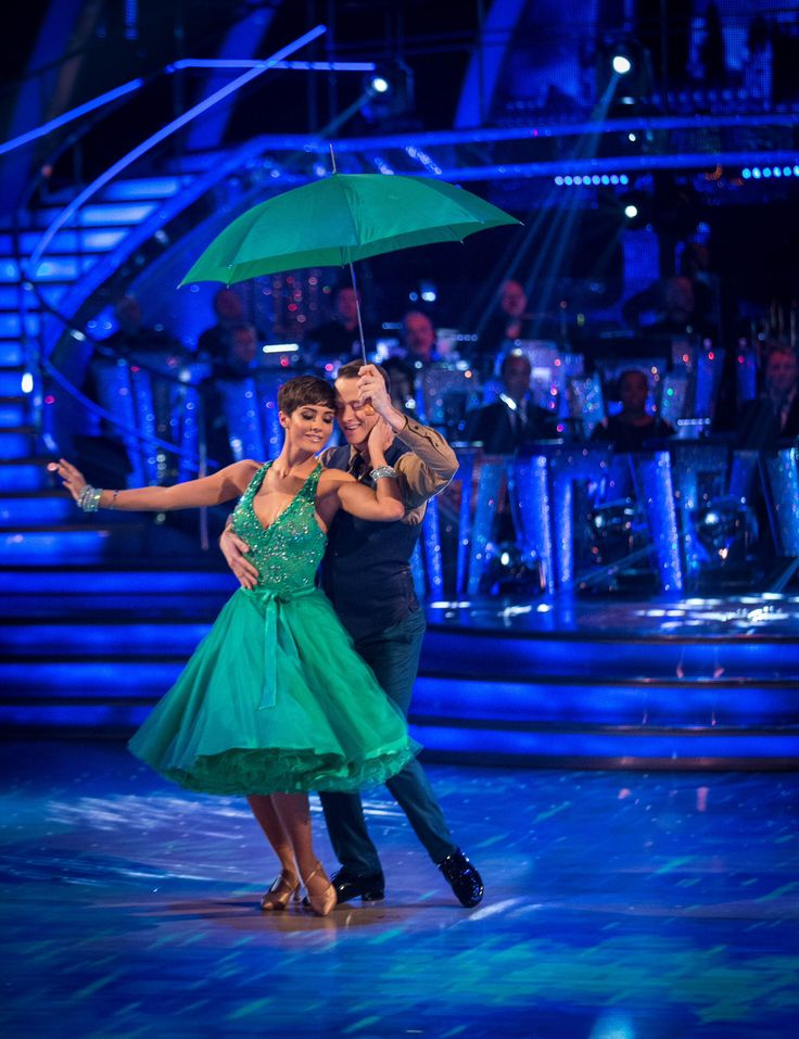 Kevin Clifton and Frankie bridge week 1 strictly come dancing 2014