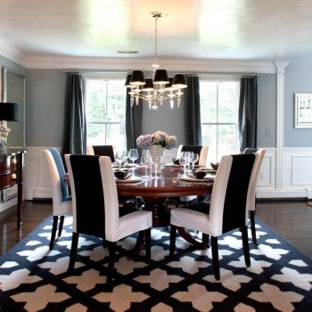 10 White Dining Room Sets Photograph for a Contemporary Dining Room with a…