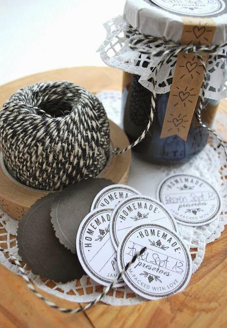 25 einzigartige marmeladenglas etiketten ideen auf - Marmeladenglas deko ...