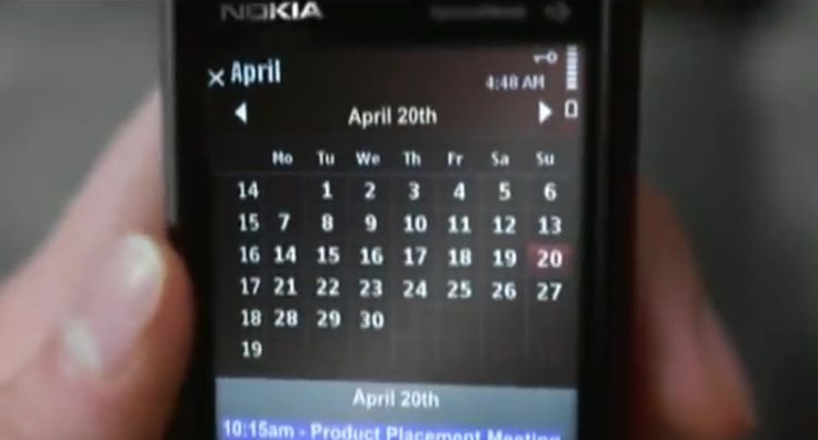 Nokia 5800 mobile phone - Britney Spears - Womanizer (2008) Music Video Scene
