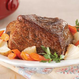 Want big results with very little work? Try Slow-Cooker New England Pot Roast with Vegetables from Seasons. It's a one-pot comfort meal that only takes minutes to prepare.