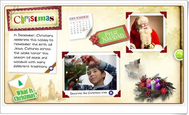 """""""Christmas interactivo"""" (Social Science de Primaria)"""