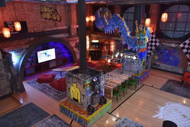 OMG! You Can Rent the Ninja Turtles' Lair in NYC for Just $10/Night on Airbnb