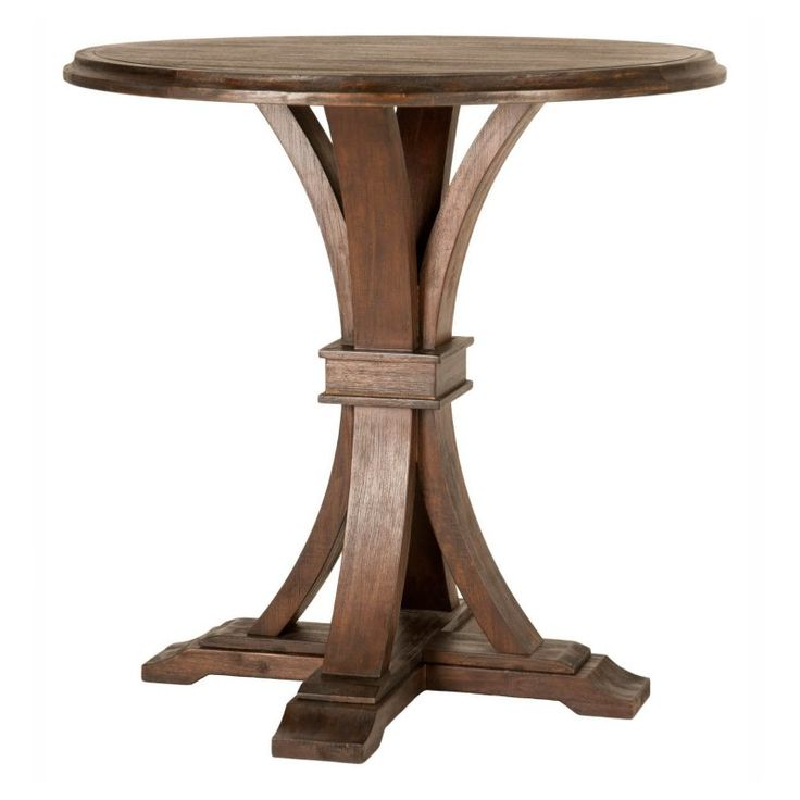 Orient Express Furniture Traditions Devon Round Bar Height Pub Table - 6069-RD.