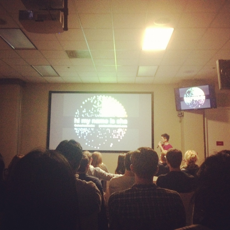 BingBooster (?) wrote a post about my talk at the Designers and Geeks meetup