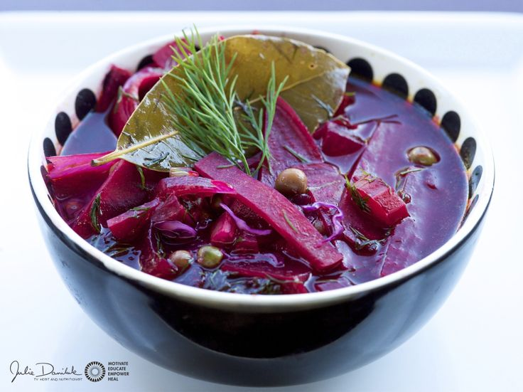Beet The Scale Borscht By JulieDaniluk.com