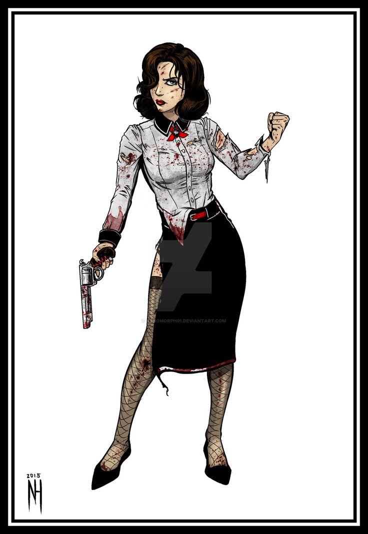 BioShock Infinite: Elizabeth Noir by xenomorph01.deviantart.com on @DeviantArt