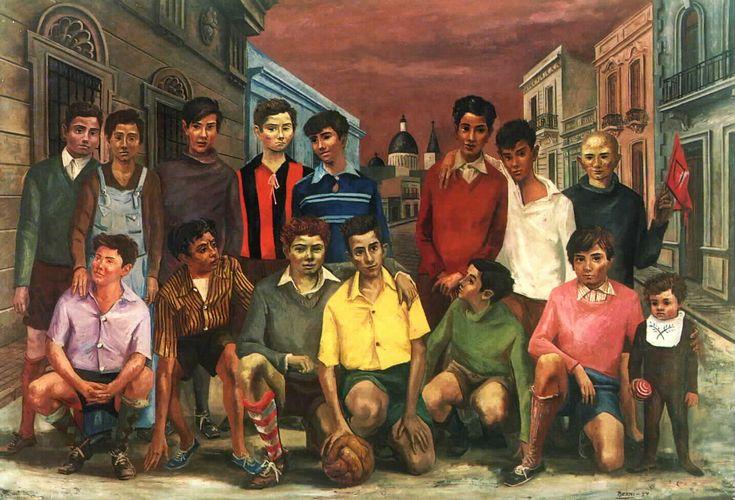 Pintura Antonio Berni (Argentina, 1905-1981)