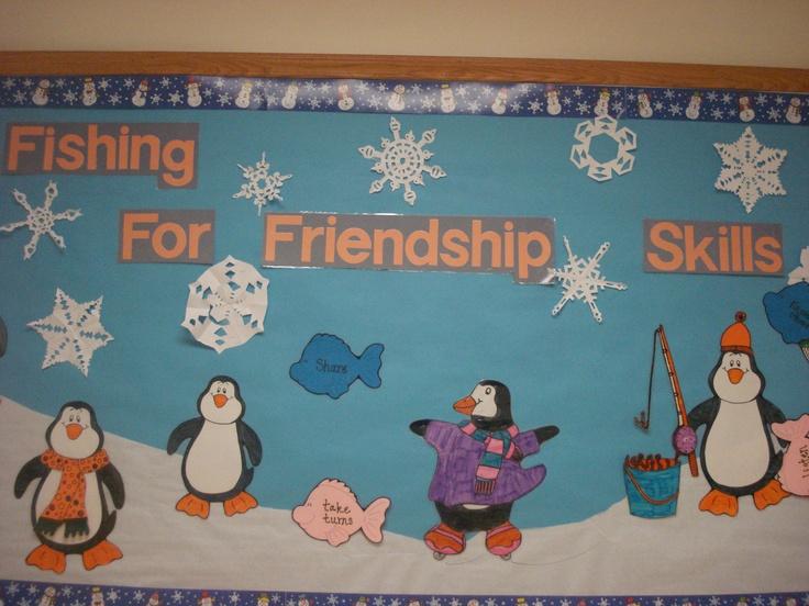 Classroom Decor Door ~ Friendship bulletin board idea for school pinterest