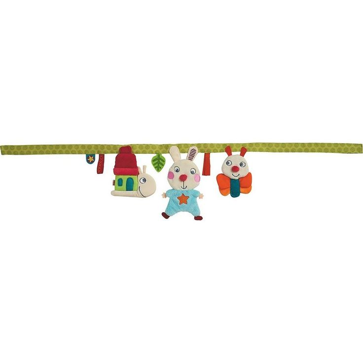 Haba 301310 Kinderwagenkette Hase Flipp