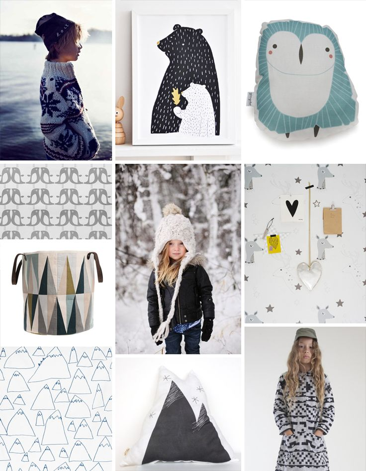 a brilliant little inspiration board for Fall/Winter kids' trends from the PATTERN OBSERVER.