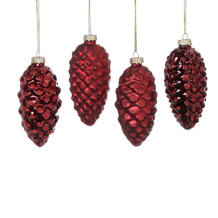 114 best images about christmas baubles on pinterest for Fir cone christmas tree decorations