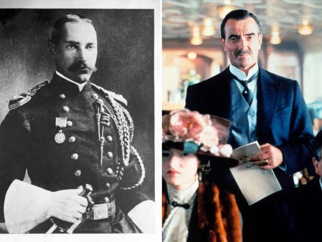 The richest man in America -- with a net worth of $87 million -- when he went down with the ship, John Jacob Astor (portrayed by Eric Braeden) was a member of America's first millionaire family. The 41-year-old businessman was married to 18-year-old socialite Madeleine Talmage Force Astor, which caused a scandal in higher society. The two were returning from their honeymoon when the Titanic sank.