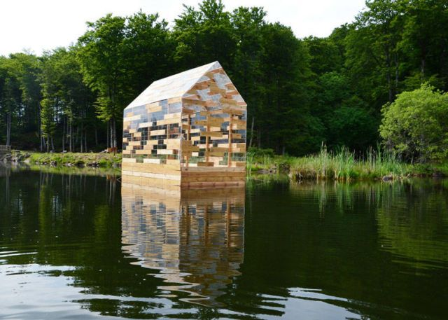 Floating French Hut