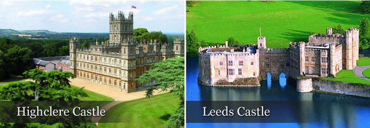 Highclere Castle and Leeds Castle in England ~of 'Downton Abbey' ~ 2012 Masterpiece Classic | PBS