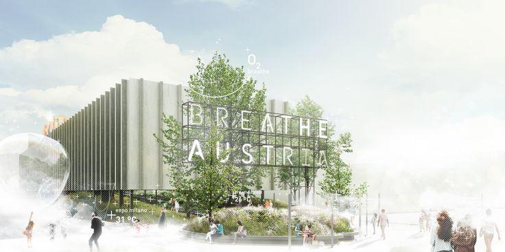 Preview of the Austrian Pavilion breathe.austria #expo2015 #expoaustria