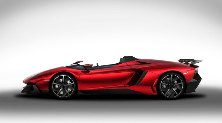 The new Aventador J UNICA