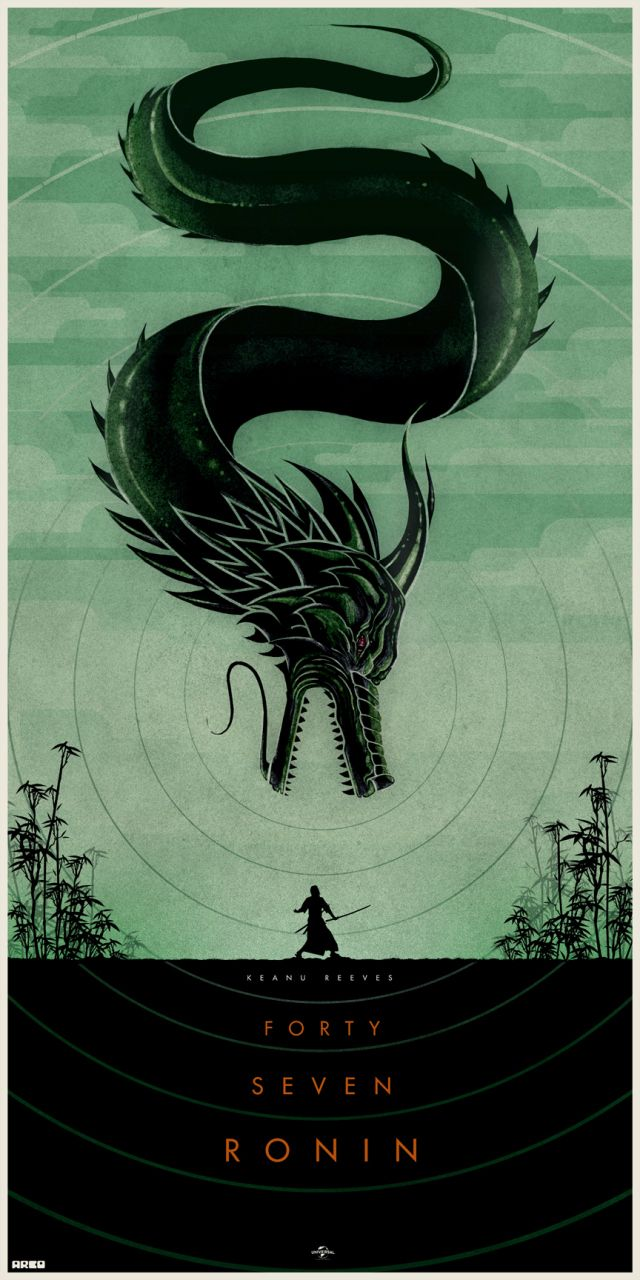 Cool Collection of 47 RONIN Fan-Made Poster Art — GeekTyrant
