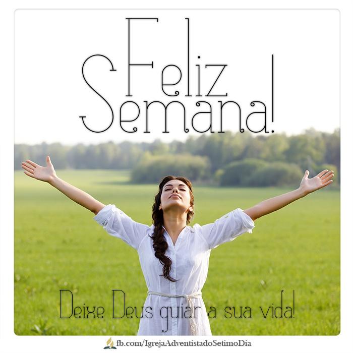 Por vezes tentamos resolver os nossos problemas por nós mesmos... Mas nessa nova semana, aceite o desafio: Deixe Deus guiar a sua vida! Feliz Semana!