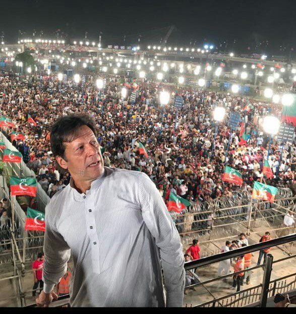 imran khans election campaign - 587×622