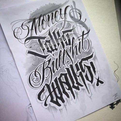 Tattoo Quotes Money: Money Talks, Bullshi Http://ift.tt/1QQWZxa …