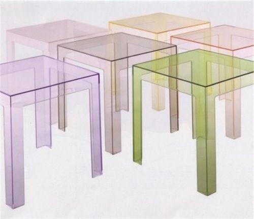 Transparente Designer Möbel aus Glas - einzigartige, glasklare Acrylmöbel - #Möbel