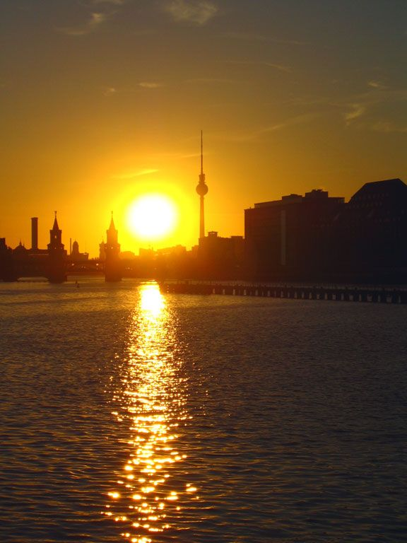 Sun goes down...bln