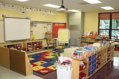 classroom - carpet area