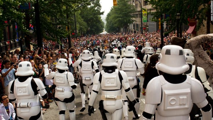 Photos: DragonCon 2013 - CNN.com. Stormtroopers from the 501st Legion in the DragonCon parade.