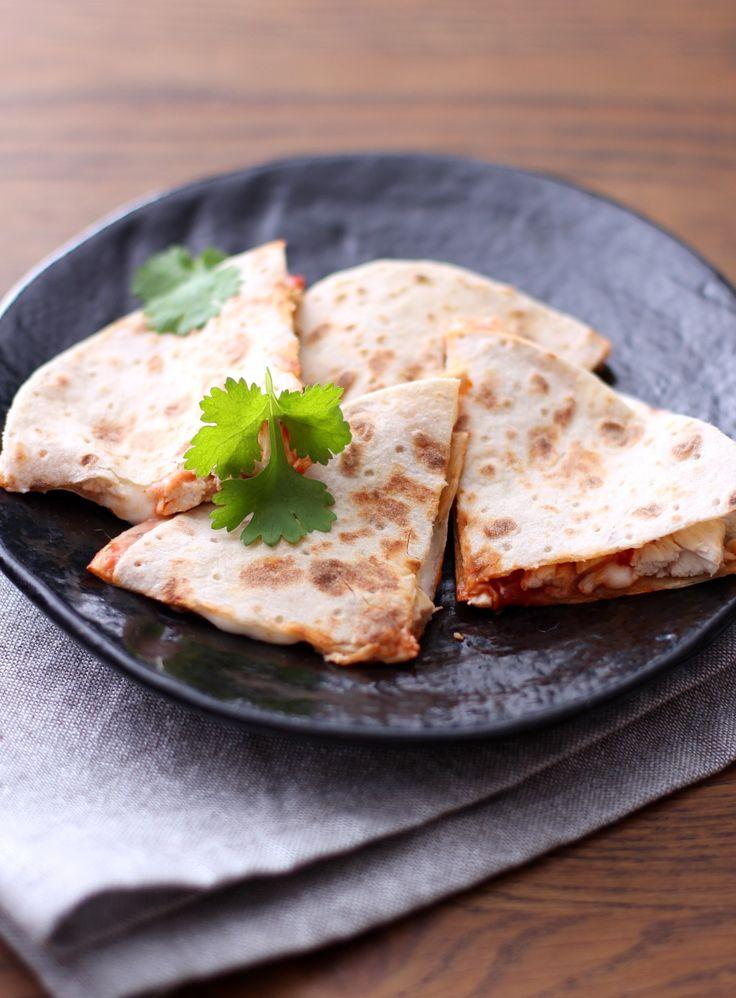 Quesadilla med kylling | Mat for muskler