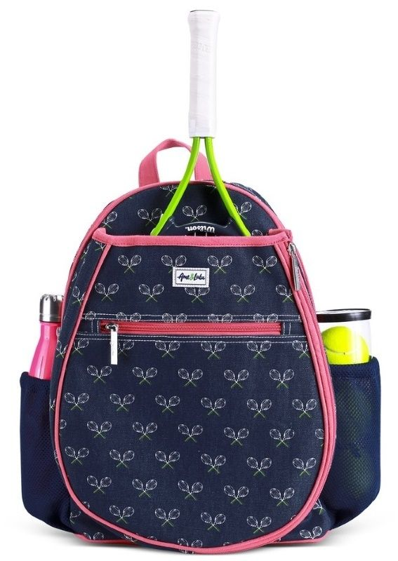 Check out our Match Point Ame & Lulu Junior Tennis Camper Backpack! Find the best tennis accessories at #lorisgolfshoppe Click through to own this bag!