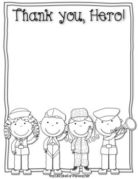 Veterans Day: Free Veterans Day Writing Printables