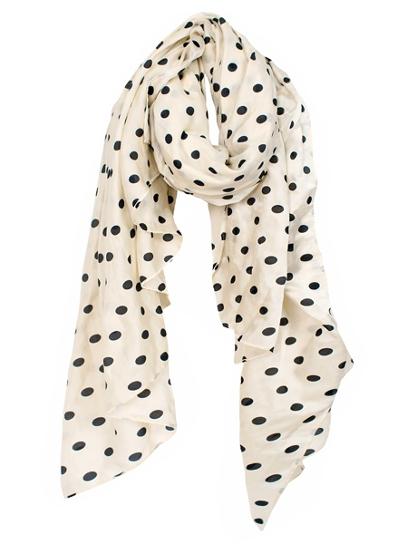 Sonia / Sonia RykielPretty Polkadot, Style, Closets, Clothing, Fab Fashion, Scarves, Accessories, Accessorizing, Polka Dots Scarf