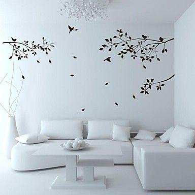 decalques de parede adesivos de parede, parede de família árvore pássaro adesivos em pvc de 1996795 2016 por €8.29