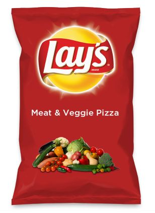 Wouldn't Meat & Veggie Pizza be yummy as a chip? Lay's Do Us A Flavor is back, and the search is on for the yummiest flavor idea. Create a flavor, choose a chip and you could win $1 million! https://www.dousaflavor.com See Rules.