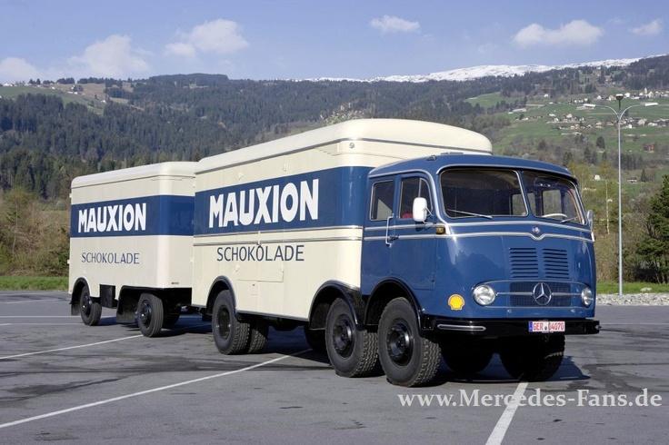 Mercedes Trucks: Schwere Sterne - meh Bilder und Infos nach dem Klick aufs Bild.
