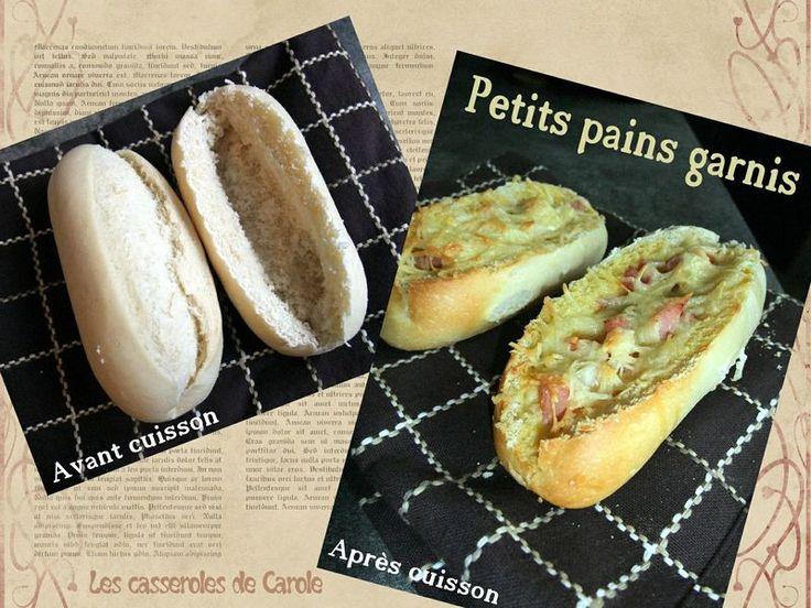 Petits pains garnis pour d�ner rapide