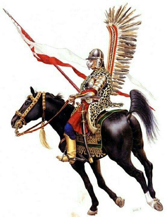 Hussar Alado, Polonia - Polish Winged Hussar at Battle of Wienna 1683 -