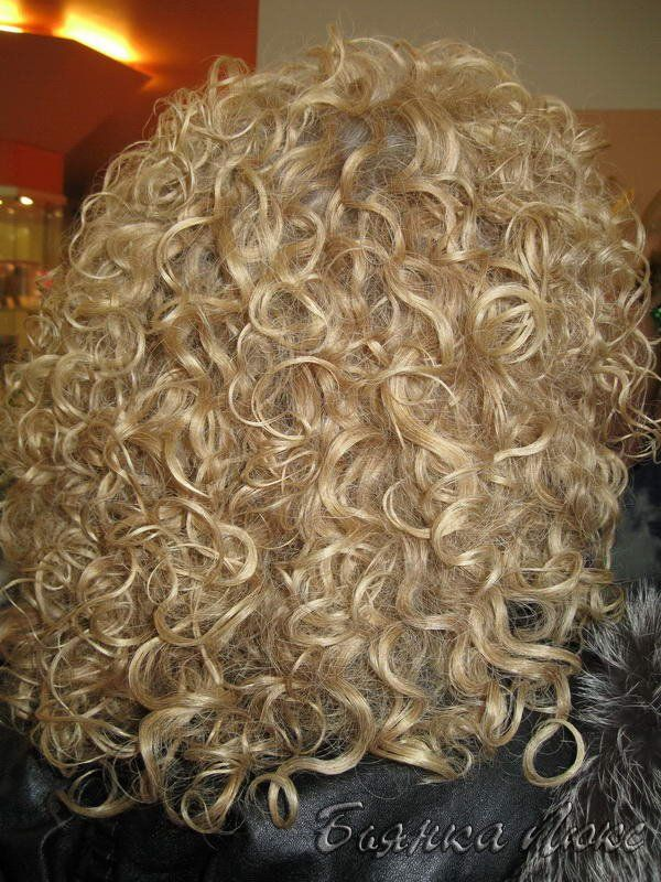 gorgeous perm with lots of volume