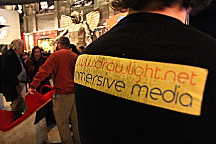DrawLight: Immersive media in action!