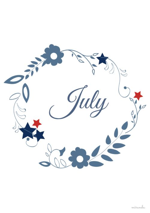 Happy July Birthday!
