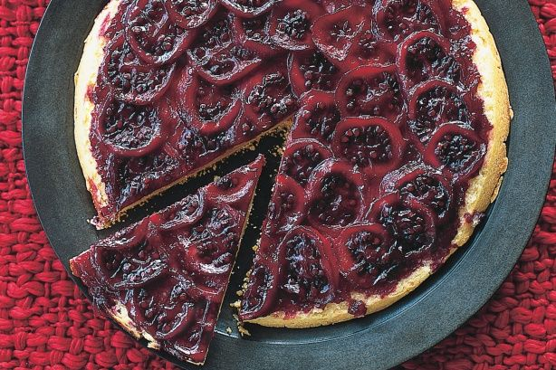 Turn your taste-buds upside down with this delicious tamarillo tarte tatin.