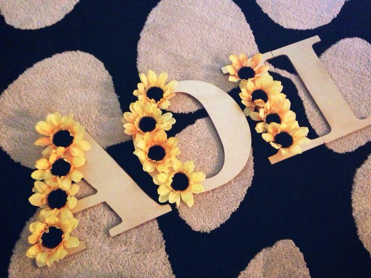 AOII #aoii #aoiigmu #sunflowers #gammaalpha