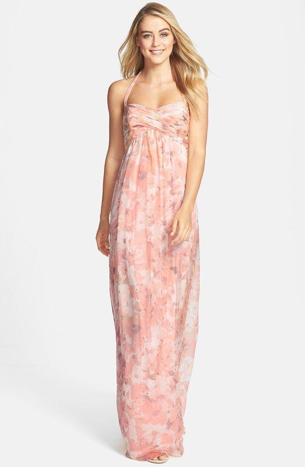 Mejores 12 imágenes de Pink Maxi Dresses en Pinterest   Vestidos ...
