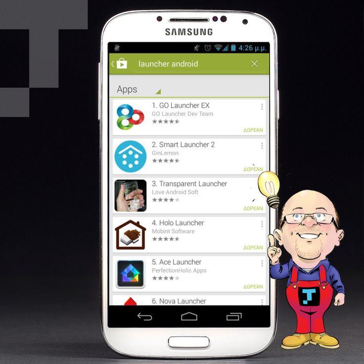 Aν δεν σου αρέσουν τα εικονίδια και η αρχική οθόνη του Android smartphone σου, δε χρειάζεται να είσαι hacker για να αλλάξεις την αισθητική τους! Μπορείς να κατεβάσεις έναν εναλλακτικό Launcher από το Google Play και να προσθέσεις νέο look, αλλά και λειτουργικότητα στο αγαπημένο σου κινητό!